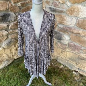 Comfy USA Open Front Tunic